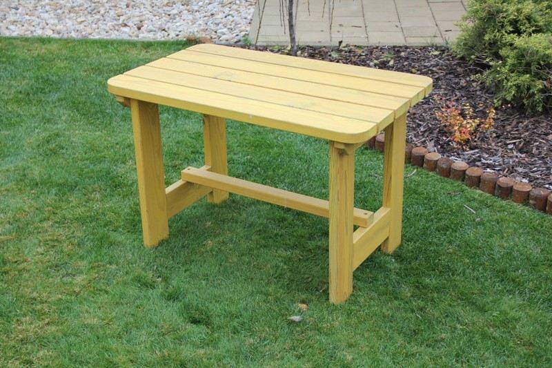 Zahradní dřevěný stůl Liška DĚTSKÁ SESTAVA bez povrchové úpravy