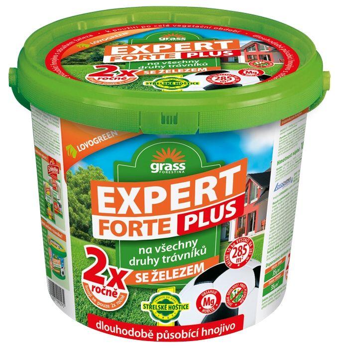 Trávníkové hnojivo EXPERT PLUS FORTE 25 kg Forestina