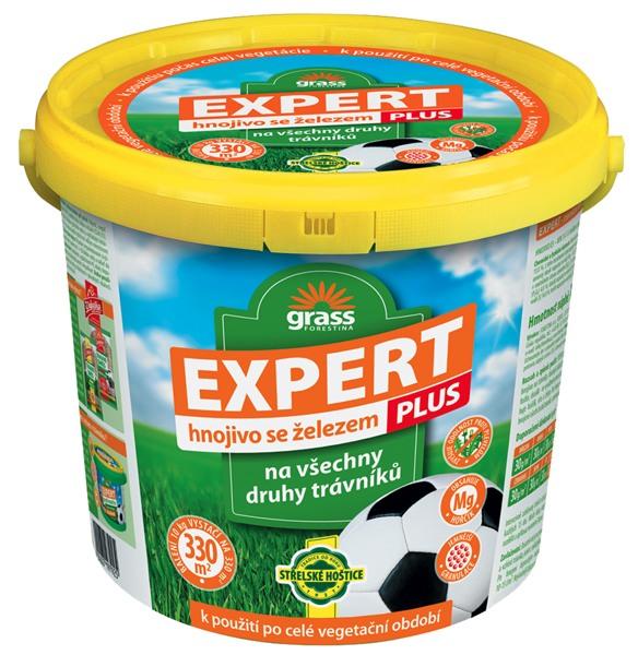 Trávníkové hnojivo EXPERT PLUS - kbelík 10 kg Forestina
