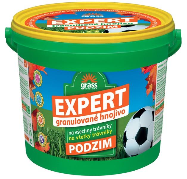 Trávníkové hnojivo EXPERT PODZIM - kbelík 5 kg Forestina