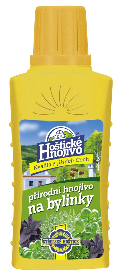 Hoštické kapalné hnojivo na bylinky 0,2 l