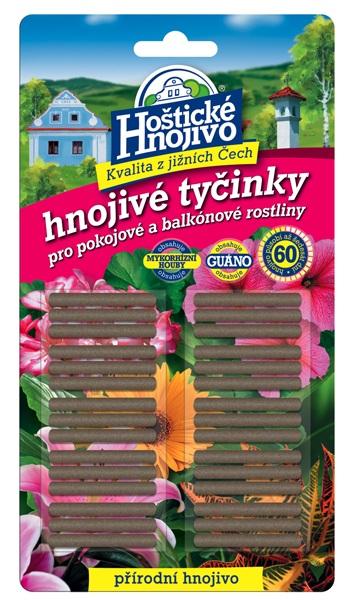 Hoštické hnojivé tyčinky - čistě přírodní 30 ks