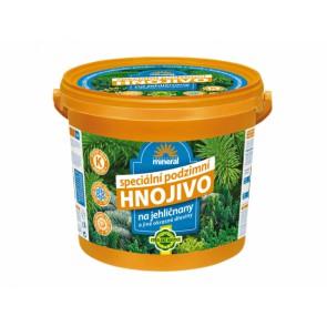 Podzimní hnojivo pro jehličnany 5 kg kbelík FORESTINA