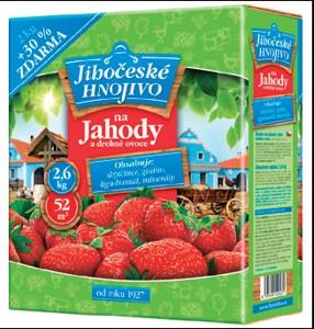 Jihočeské hnojivo na jahody a jiné drobné ovoce 2 kg + 30% FORESTINA