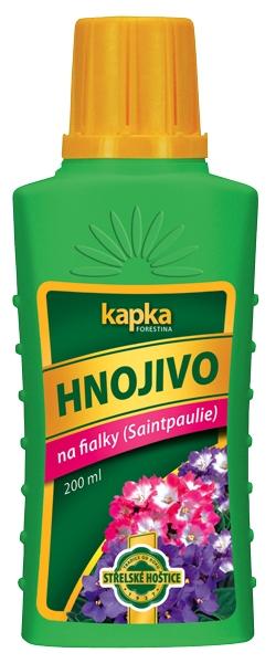 Kapalné hnojivo na Saintpaulie (fialky) 0,2 l Forestina KAPKA