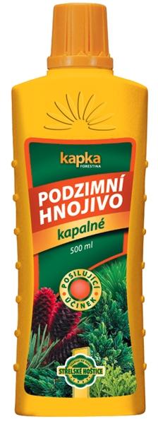 Kapalné hnojivo podzimní - kapalné hnojivo 0,5 l Forestina KAPKA