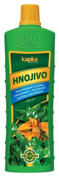 Kapalné hnojivo pro pokojové rostliny nekvetoucí 1 l Forestina KAPKA