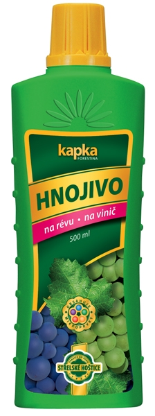Kapalné hnojivo na vinnou révu 0,5 l Forestina KAPKA