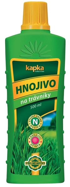 Kapalné hnojivo na trávníky 0,5 l Forestina
