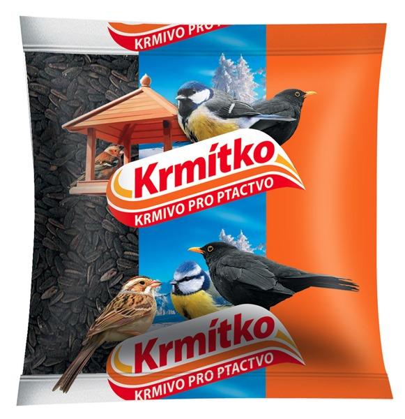 Krmivo pro ptactvo - Slunečnice černá 400 g KRMÍTKO