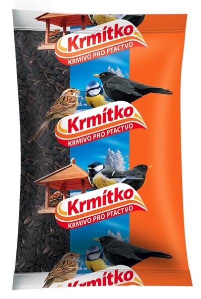 Krmivo pro ptactvo - Slunečnice černá 800 g KRMÍTKO