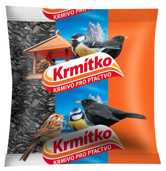 Krmivo pro ptactvo - Slunečnice žíhaná 400 g KRMÍTKO