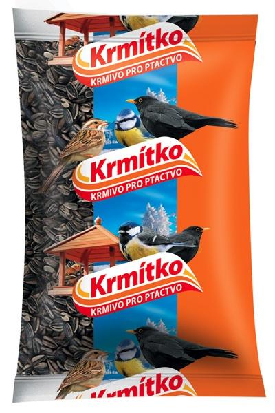 Krmivo pro ptactvo - Slunečnice žíhaná 800 g KRMÍTKO