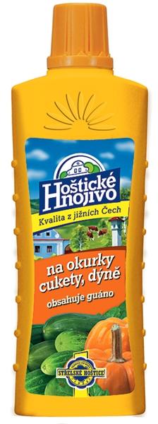 Hoštické kapalné hnojivo na okurky a cukety - s guánem 0,5 l FORESTINA