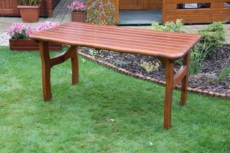 Zahradní dřevěný stůl Liška LORIT bez povrchové úpravy