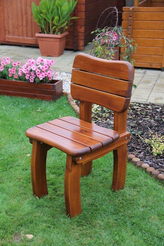 Zahradní dřevěná židle Liška LORIT bez povrchové úpravy