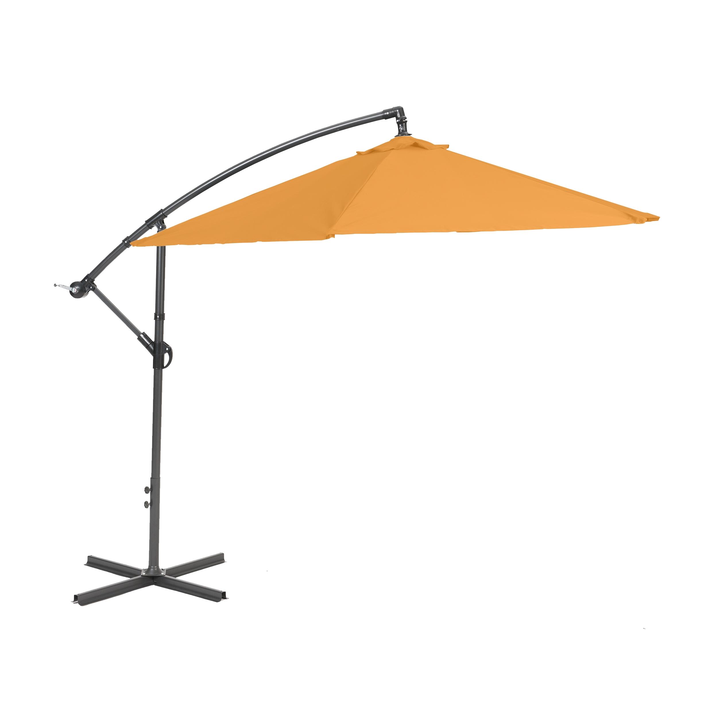 Boční slunečník 2,7 m (oranžový) Meiyang Miami