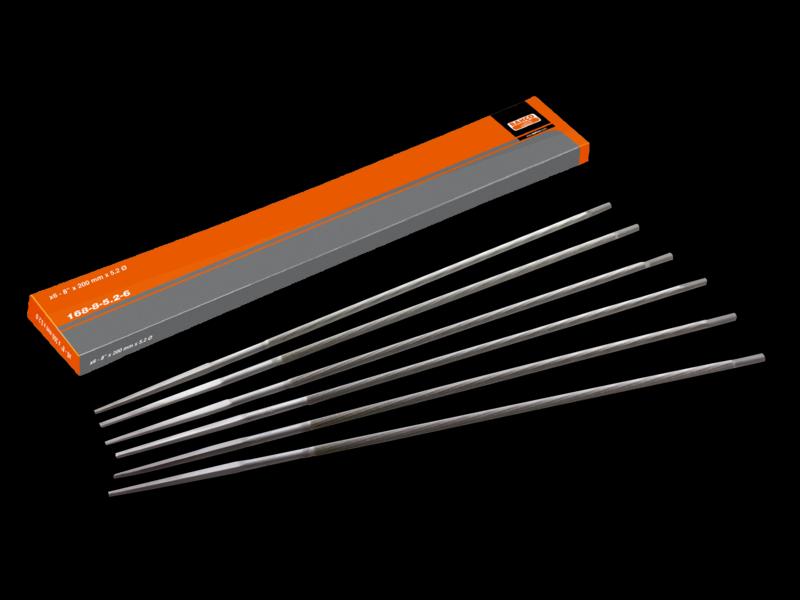 BAHCO Pilník na řetěz.pilu kulatý 200x4,8mm