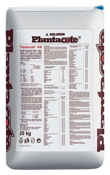 Speciální granulované hnojivo Plantacote 4M Mix (15-10-15+2HgO) 25 kg FORESTINA