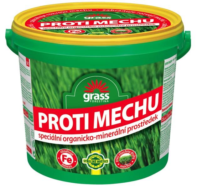 Přípravek proti mechu - granulovaný kbelík 10 kg Forestina