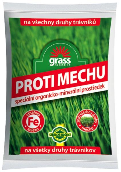 Přípravek proti mechu - granulovaný 5 kg Forestina
