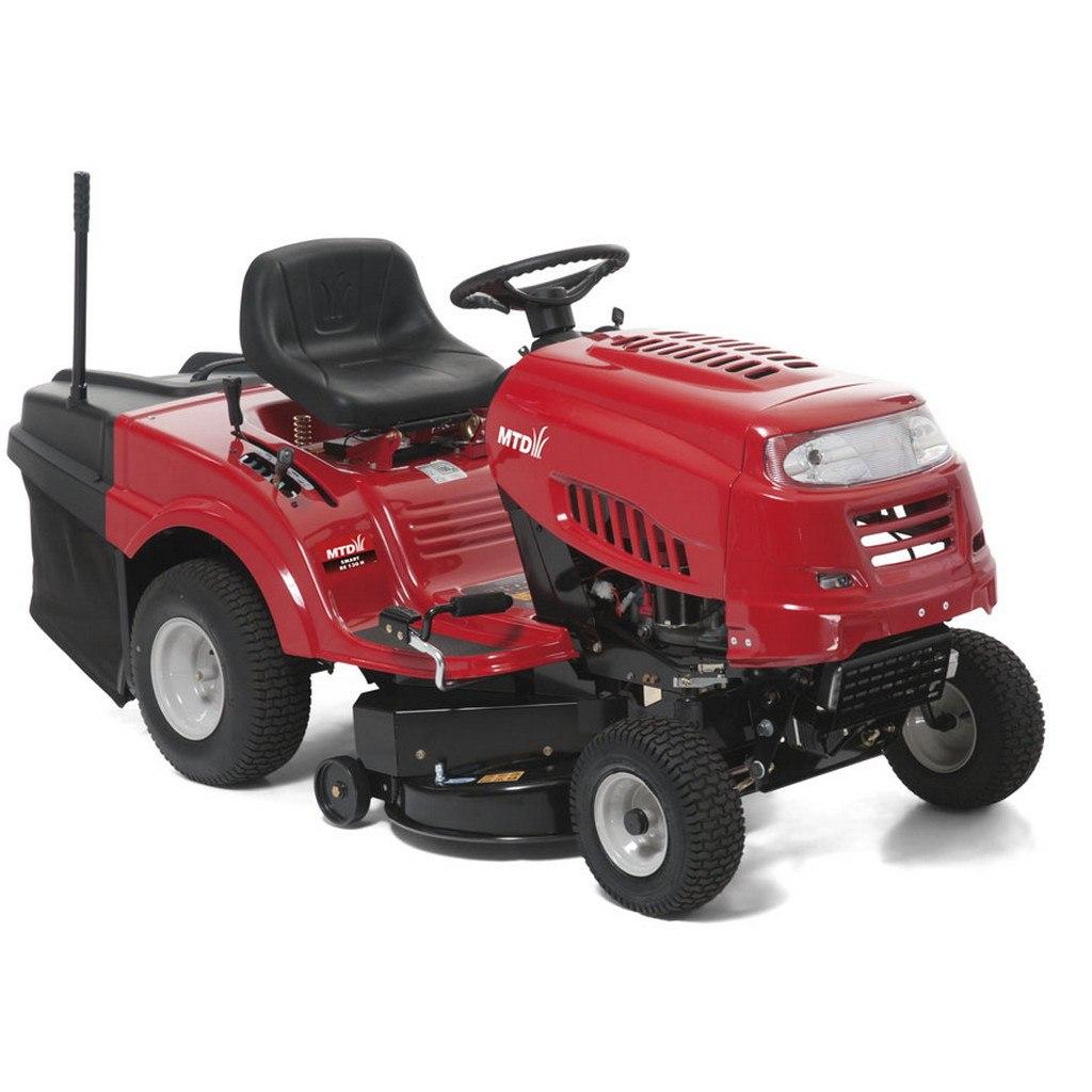 Travní traktor se zadním výhozem RE 130 H MTD