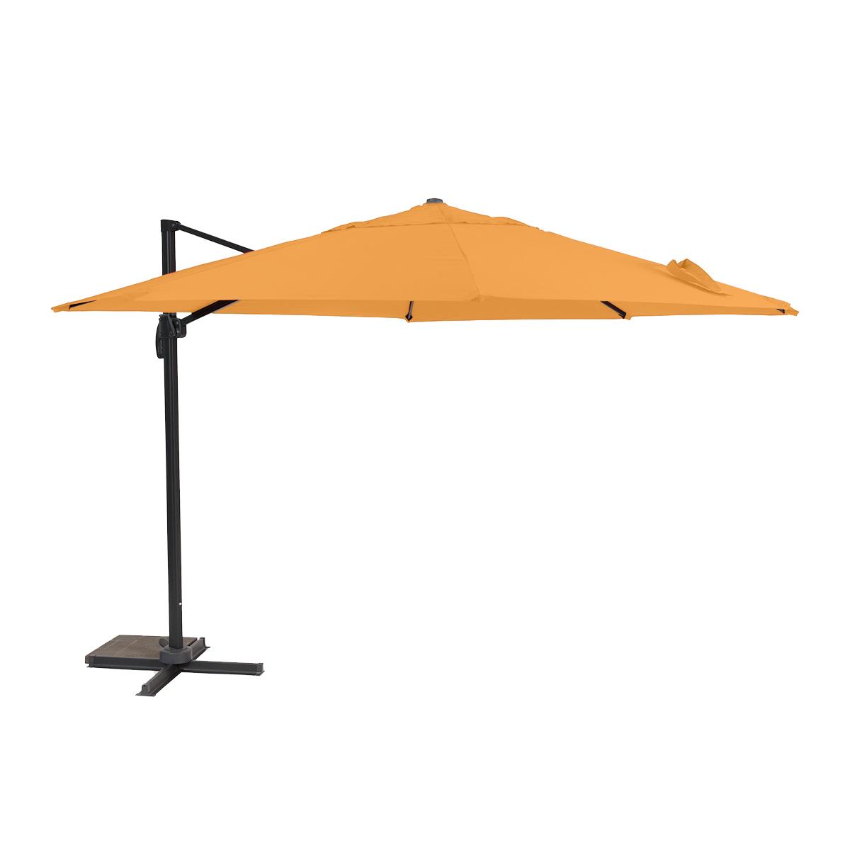 Boční slunečník 3,5 m (oranžový) Meiyang Roma