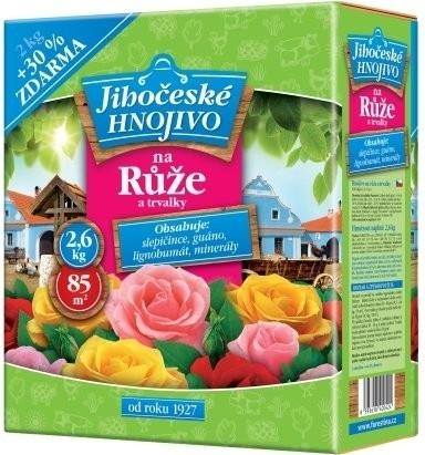 Jihočeské hnojivo na růže a trvalky 2 kg + 30%