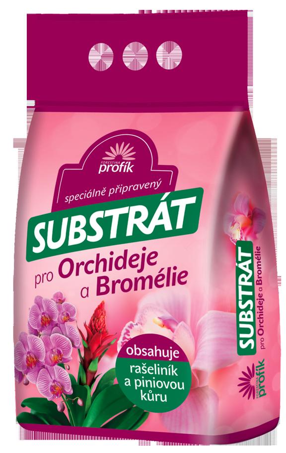 Speciální substrát pro orchideje a bromélie Forestina PROFÍK 5 l