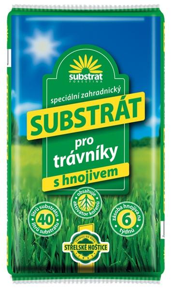 FORESTINA Substrát pro trávníky 40 l