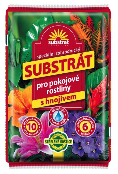 FORESTINA Substrát pro pokojové rostliny 10 l
