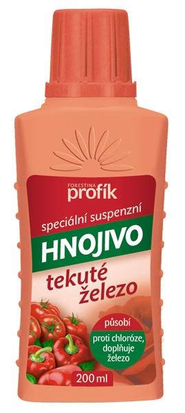 Speciální kapalné hnojivo s obsahem Fe Forestina PROFÍK 0,2 l