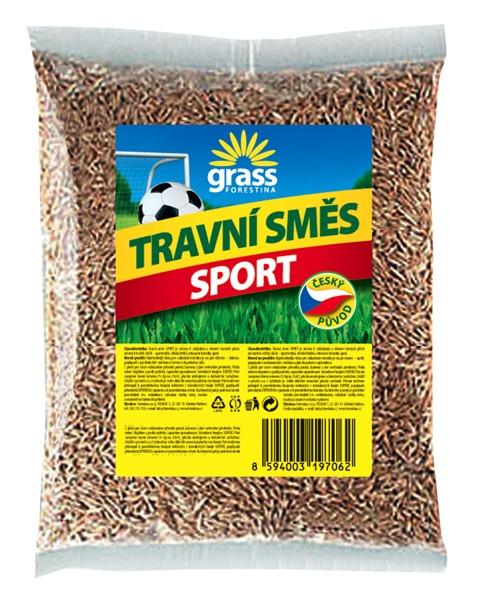 Travní směs sport (základní) - ČR 0,5 kg Forestina EXPERT