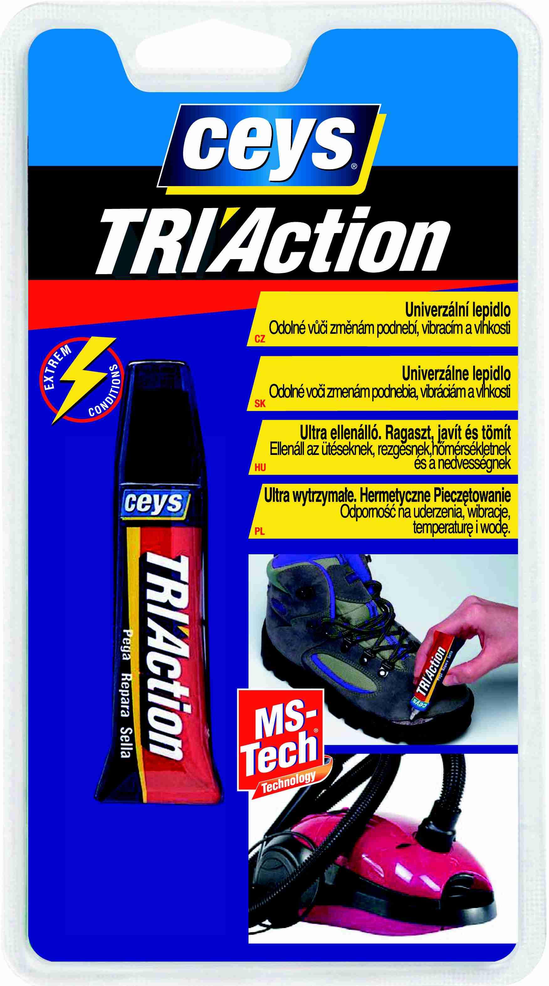 Univerzální lepidlo MS - TECH ( TRIACTION) 10 g CEYS