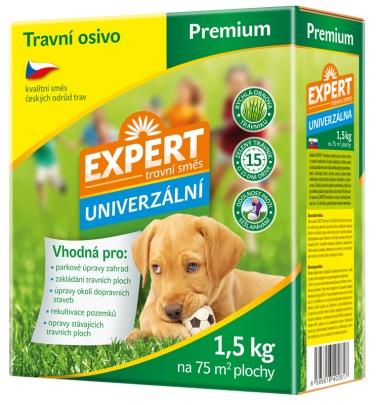 Travní směs EXPERT UNIVERZAL Prémium - ČR 1,5 kg Forestina