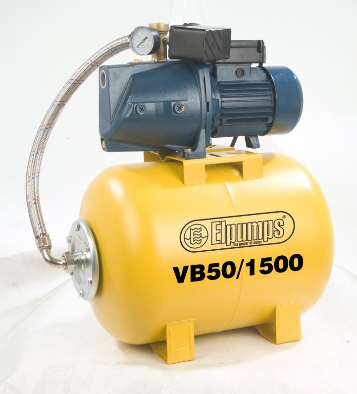 Domácí vodárna ELPUMPS VB 50/1500 B