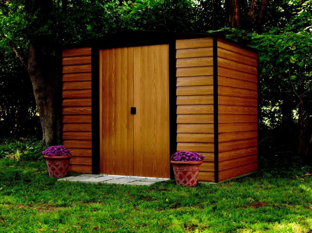 Kovový zahradní domek ARROW WOODRIDGE 86