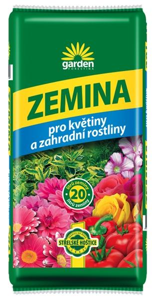 Zemina pro květiny a zahradní rostliny 20 l Forestina
