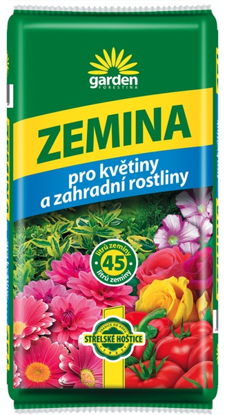 Zemina pro květiny a zahradní rostliny 45 l Forestina